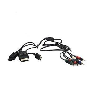 Cabo Vídeo Componente Paralelo - PS3, Xbox 360 e Wii