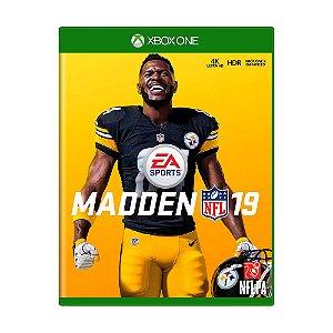 Jogo Madden NFL 19 - Xbox One