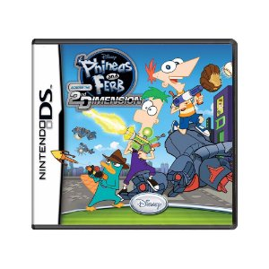 Jogo Phineas and Ferb: Across the 2nd Dimension - DS