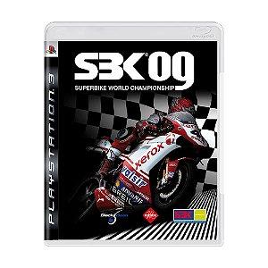 Jogo SBK-09: Superbike World Championship - PS3