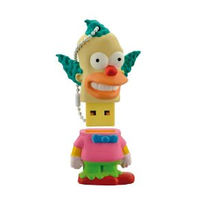 Pen Drive Multilaser The Simpsons: Krusty 8GB - PC e Mac