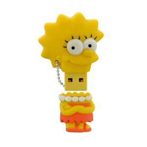 Pen Drive Multilaser The Simpsons: Lisa 8GB - PC e Mac