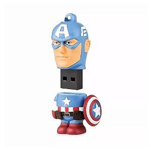 Pen Drive Multilaser The Avengers: Capitão América 8GB - PC e Mac