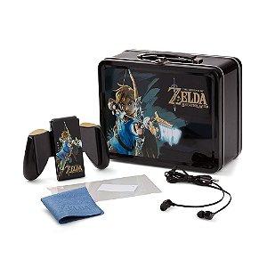 Kit Lancheira Colecionável PowerA (The Legend of Zelda: Breath of the Wild) - Switch