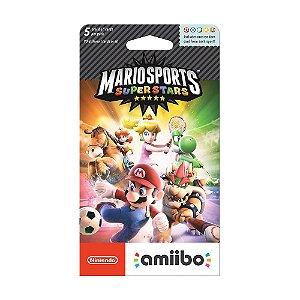 Cartão Nintendo Amiibo (Mario Sports Superstars) - Nintendo 3DS
