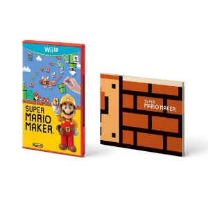 Jogo Super Mario Maker + Artbook - Wii U