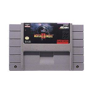 Jogo Mortal Kombat II - SNES