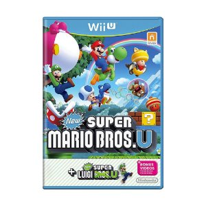 Jogo New Super Mario Bros. U + New Super Luigi U - Wii U