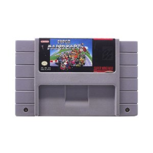Jogo Super Mario Kart - SNES