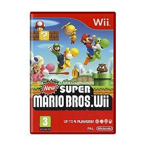 Jogo New Super Mario Bros. - Wii (Europeu)