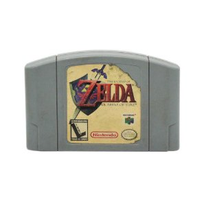 Jogo The Legend of Zelda: Ocarina of Time - N64