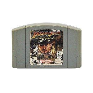 Jogo Indiana Jones and the Infernal Machine - N64