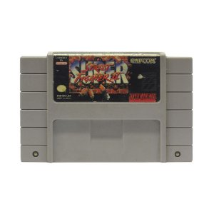Jogo Super Street Fighter II: The New Challengers - SNES