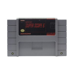 Jogo Super Scope 6 - SNES