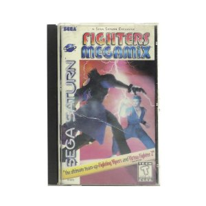 Jogo Fighters Megamix - Sega Saturn