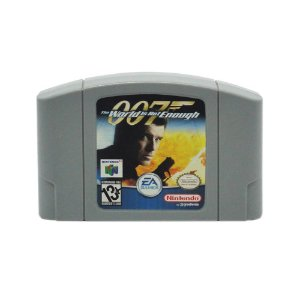 Jogo 007: The World Is Not Enough - N64