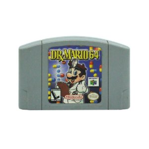 Jogo Dr. Mario 64 - N64