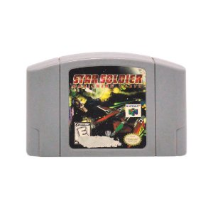 Jogo Star Soldier: Vanishing Earth - N64