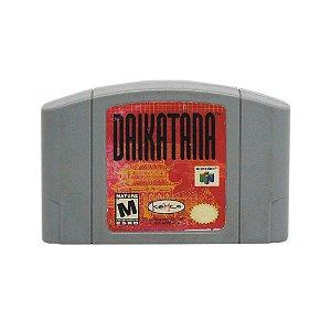 Jogo Daikatana - N64