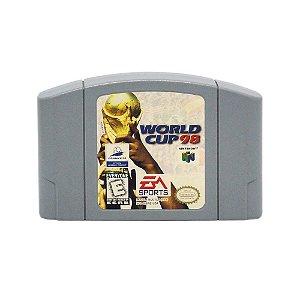 Jogo World Cup 98 - N64