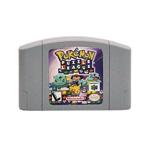 Jogo Pokémon Puzzle League - N64