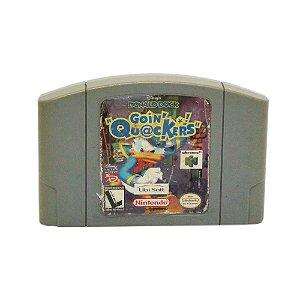 Jogo Disney's Donald Duck: Goin' Quackers - N64