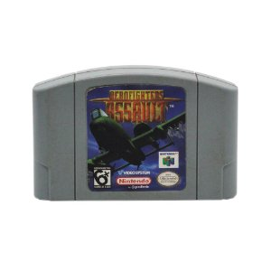 Jogo AeroFighters Assault - N64
