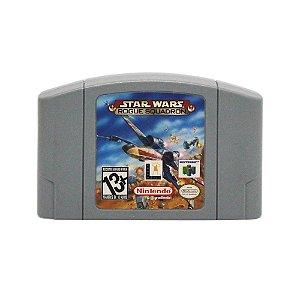 Jogo Star Wars: Rogue Squadron - N64