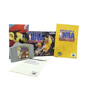 Jogo Kobe Bryant in NBA Courtside - N64