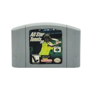 Jogo All Star Tennis 99 - N64