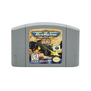 Jogo Micro Machines 64 Turbo - N64