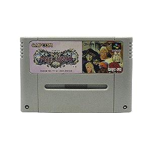 Jogo Magic Sword - SNES (Japonês)