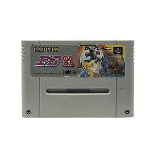 Jogo Área 88 - SNES (Japonês)