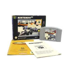 Jogo F-1 World Grand Prix - N64 (Europeu)