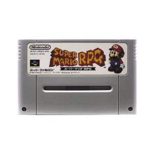 Jogo Super Mario RPG: Legend of the Seven Stars - SNES (Japonês)