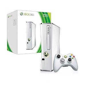Console Xbox 360 Slim 4GB Branco - Microsoft