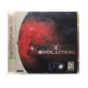 Jogo Seventh Cross: Evolution - DreamCast