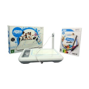 Jogo uDraw Studio + uDrawn GameTablet (Bundle) - Wii