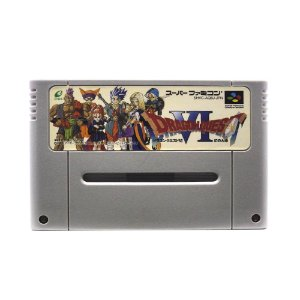 Jogo Dragon Quest VI: Realms of Revelation - SNES (Japonês)