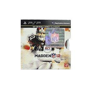Jogo Madden NFL 12 - PSP (Capa Dura)