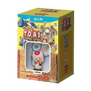 Jogo Captain Toad: Treasure Tracker + Amiibo Toad (Bundle) - Wii U