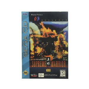 Jogo Supreme Warrior - Sega CD