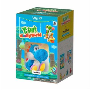 Jogo Yoshi's Wooly World + Light Blue Yarn Yoshi (Bundle) - Wii U