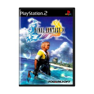 Jogo Final Fantasy X - PS2