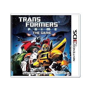 Jogo Transformers: Prime the Game - 3DS