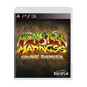 Jogo Monster Madness: Grave Danger - PS3