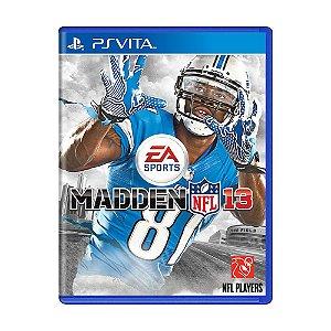 Jogo Madden NFL 13 - PS Vita