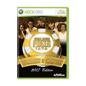 Jogo World Series of Poker: Tournament of Champions - Xbox 360