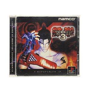 Jogo Tekken 3 - PS1 (Japonês)