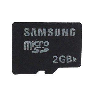 Cartão de Memória Micro SD 2GB - Samsung